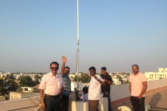 Antenna Party at VU3RQP